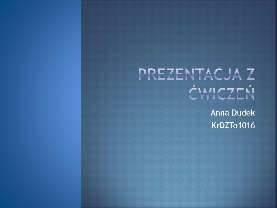 ZYCIORYS Nazywam sie Ania Dudek.Urodzilam sie w Krakowie zima 25.01.1995 roku.Chodzilam do Podstawowe Szkoly Muzycznej I st.