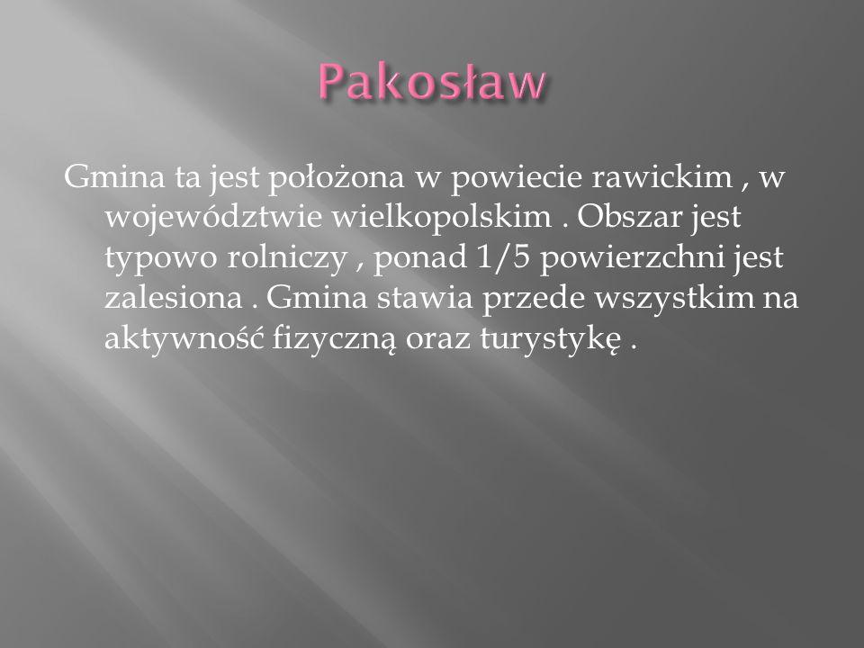 Gmina ta jest położona w powiecie rawickim, w województwie wielkopolskim.