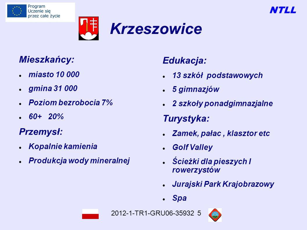 NTLL 2012-1-TR1-GRU06-35932 5 Dziękujemy Děkuji vám Teşekkür ederim Ten projekt został zrealizowany przy wsparciu finansowym Komisji Europejskiej.