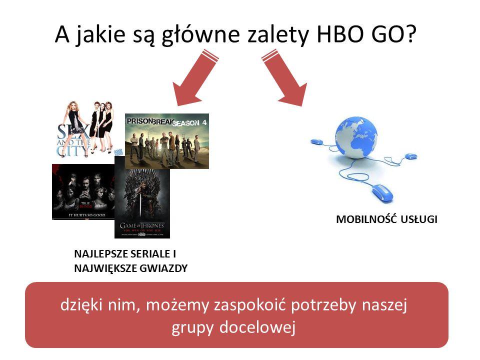 A jakie są główne zalety HBO GO.