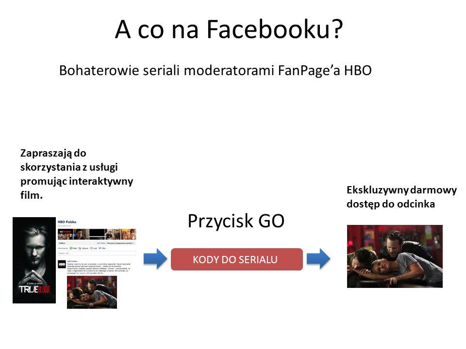 Piszą posty w czasie rzeczywistym w trakcie trwania ich seriali KODY DO SERIALU A co na Facebooku.