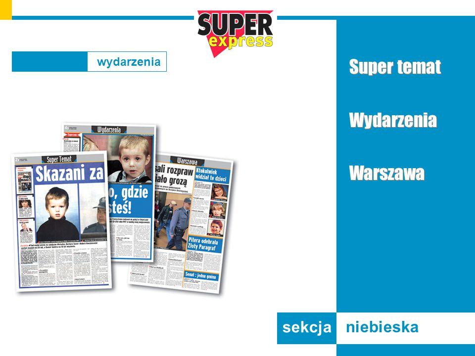 Super temat Wydarzenia Warszawa Super temat Wydarzenia Warszawa sekcja niebieska wydarzenia