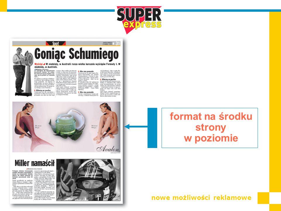 format na środku strony w poziomie nowe możliwości reklamowe