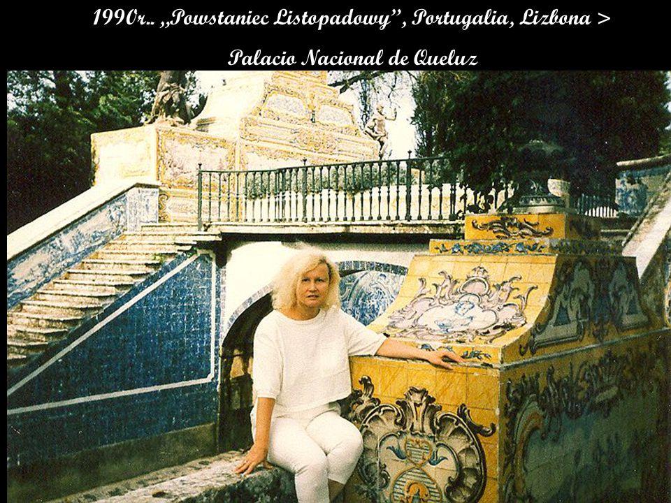 "1990r.. ""Powstaniec Listopadowy , Portugalia, Lizbona > Palacio Nacional de Queluz"