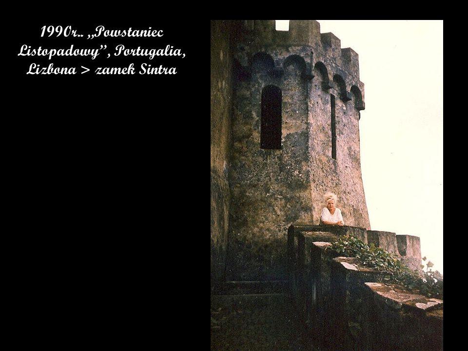 """1990r.. """"Powstaniec Listopadowy , Portugalia, Lizbona > zamek Sintra"""