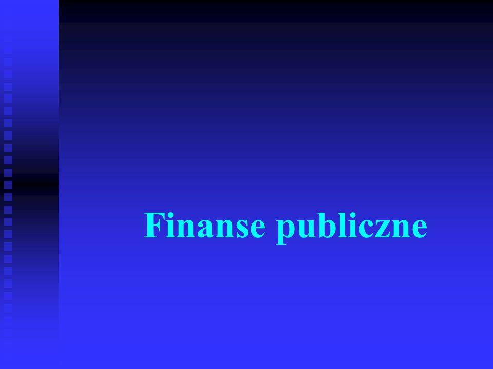 Podstawy finansów32 Dotacje celowe to środki budżetowe na finansowanie lub dofinansowanie zadań administracji rządowej oraz zadań zleconych j.s.t., a także zadań własnych j.s.t., zadań zleconych do realizacji jednostkom nie zaliczanym do sektora publicznego oraz fundacjom i stowarzyszeniom, jak również kosztów realizacji inwestycji zakładów budżetowych (państwowych), inwestycji j.s.t., inwestycji związanych z badaniami naukowymi i pracami badawczo-rozwojowymi.