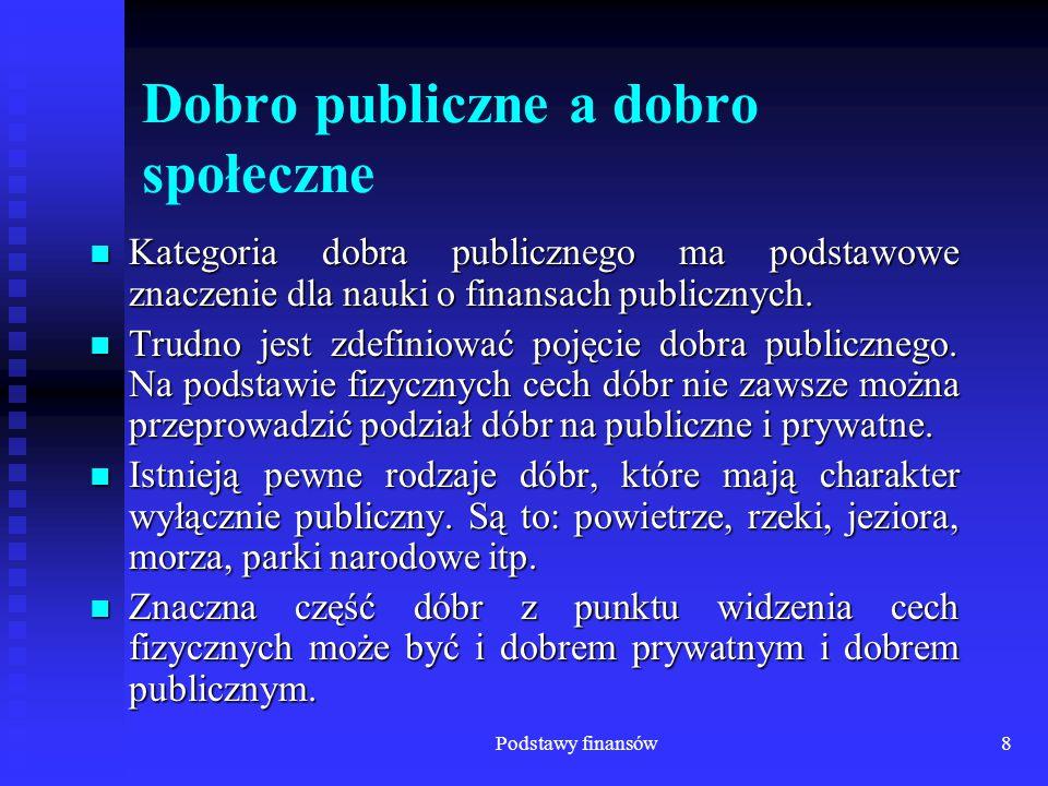Podstawy finansów79 Wydatki budżetu państwa Wyszczególnienie 2004r.