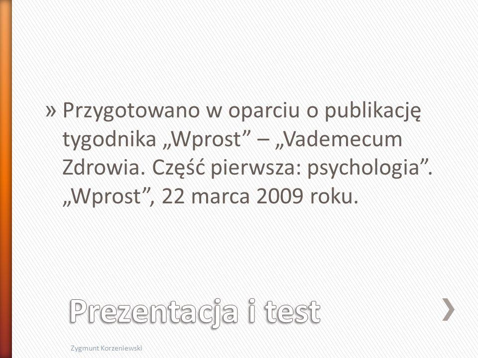 """» Przygotowano w oparciu o publikację tygodnika """"Wprost – """"Vademecum Zdrowia."""