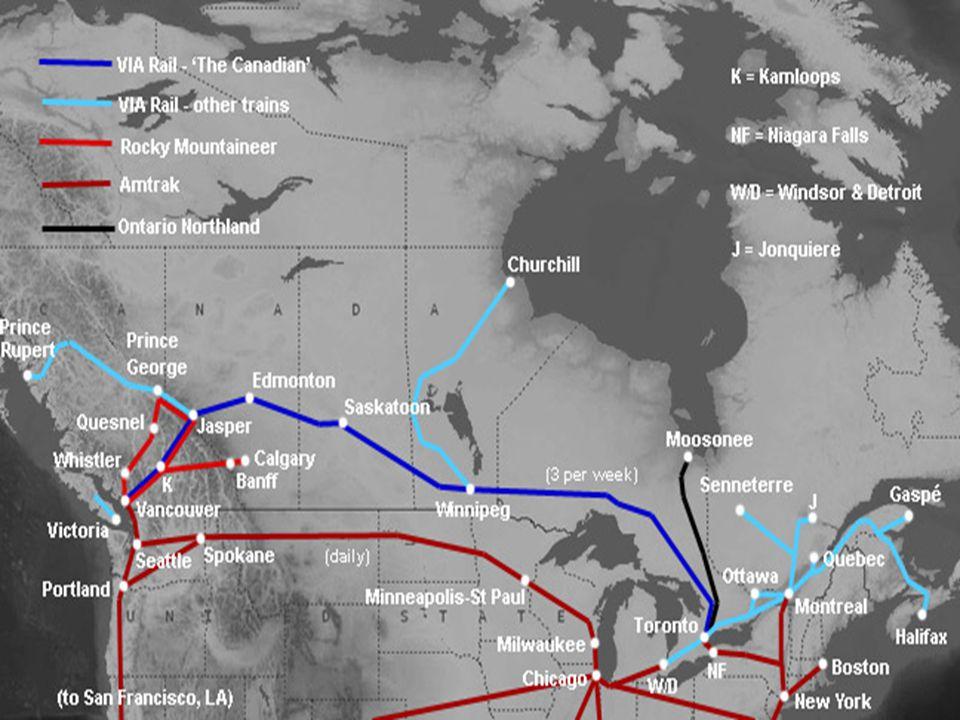 The Canadian Przeminięte z listy ubiegłego roku są GrandLuxe Express i Sierra Madre Express ofiar kryzysu gospodarczego USA.