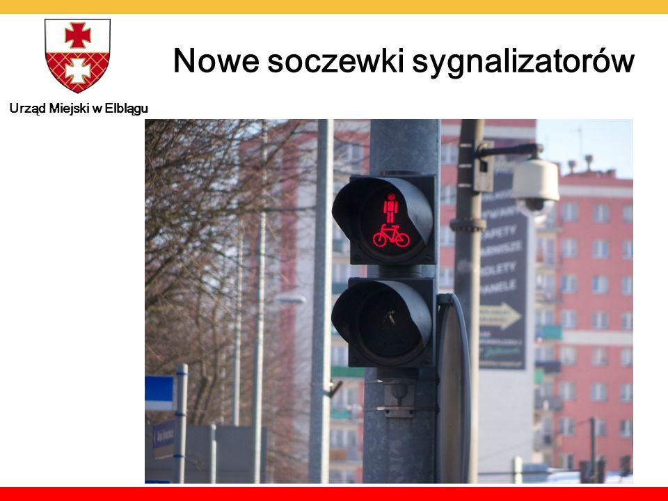 Urząd Miejski w Elblągu Nowe soczewki sygnalizatorów