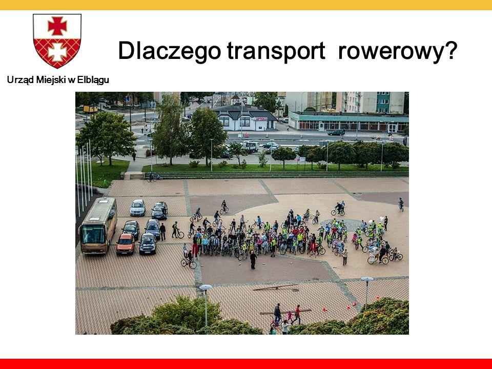 Urząd Miejski w Elblągu Dlaczego transport rowerowy
