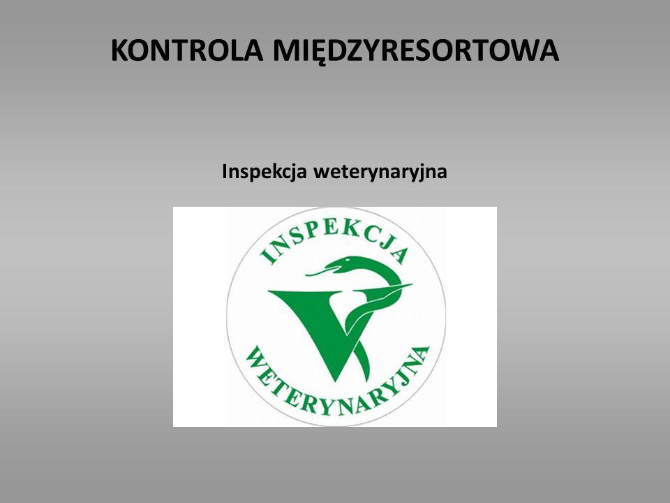 KONTROLA MIĘDZYRESORTOWA Inspektor ds. Spraw Substancji i Preparatów Chemicznych