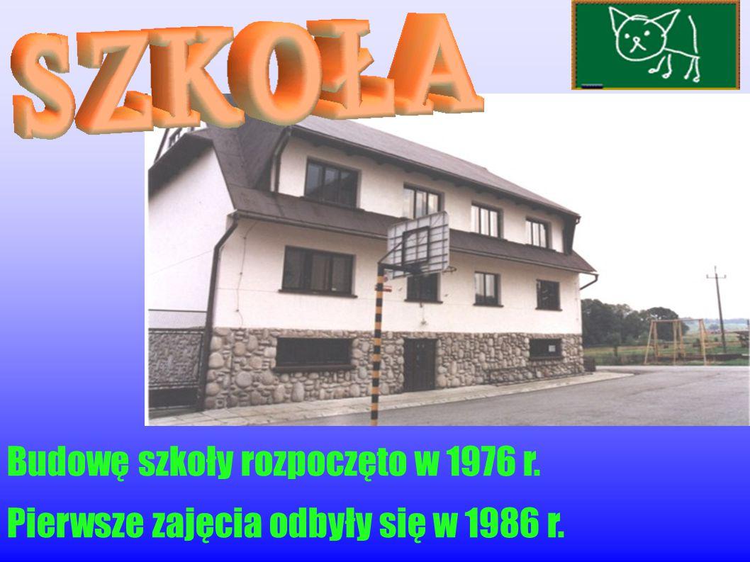 W ogrodzie Andrzeja i Anny Cisoń wybudowana w 1990 roku.