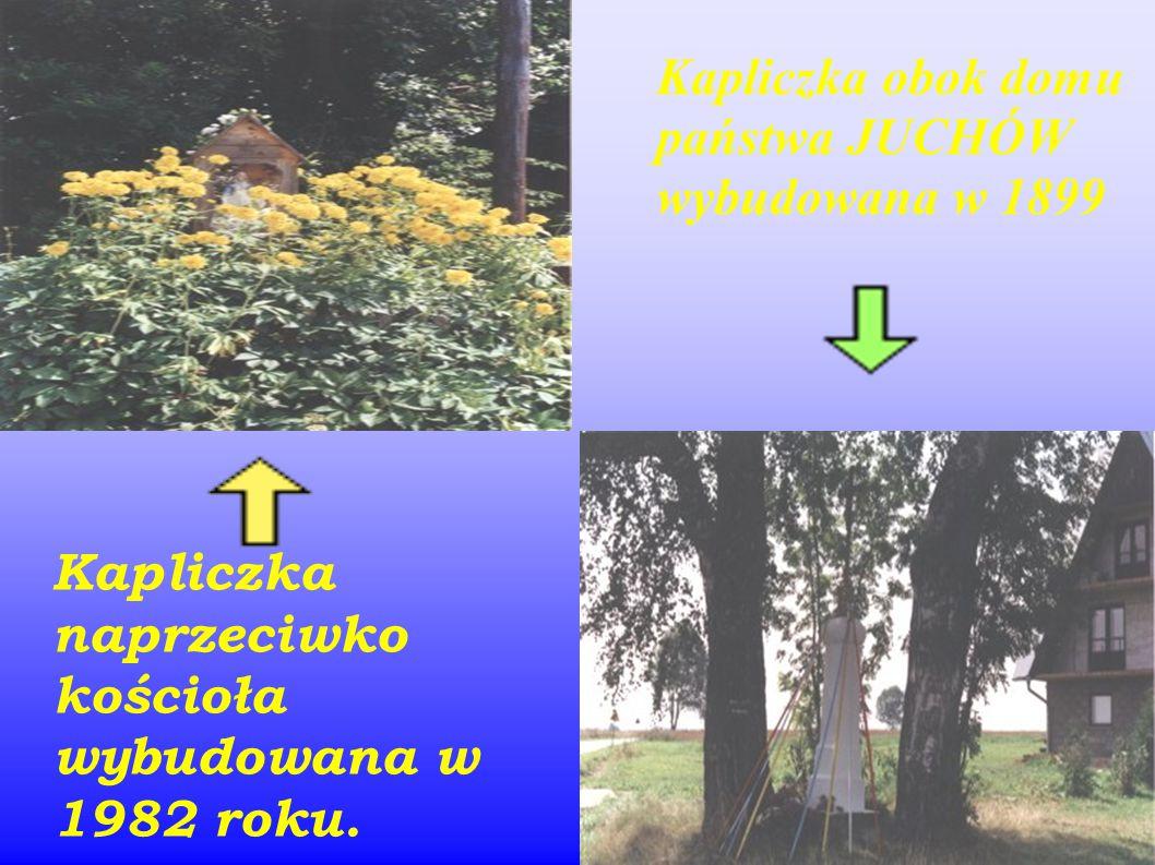W naszej wsi znajduje się 8 kapliczek