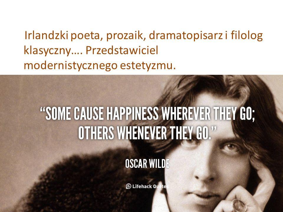 Był synem znanego chirurga, okulisty i laryngologa Sir Williama Wilde a i Lady Jane Wilde, poetki, która prowadziła jeden z najznamienitszych salonów literackich Dublina.