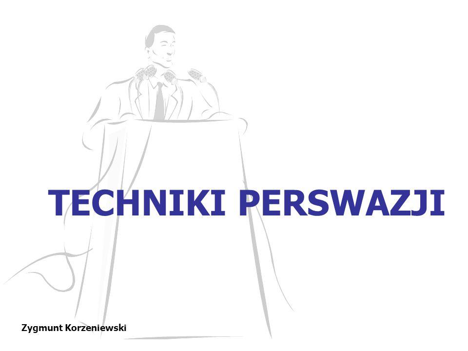 POTĘGA PYTAŃ W odpowiedzi zadajemy pytanie Zygmunt Korzeniewski