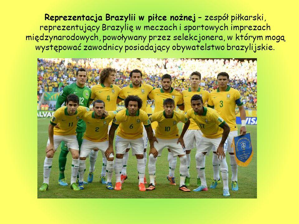 Reprezentacja Brazylii w piłce nożnej – zespół piłkarski, reprezentujący Brazylię w meczach i sportowych imprezach międzynarodowych, powoływany przez