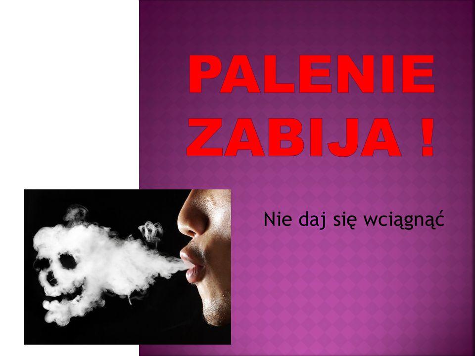 Nikotyna to substancja psychoaktywna.