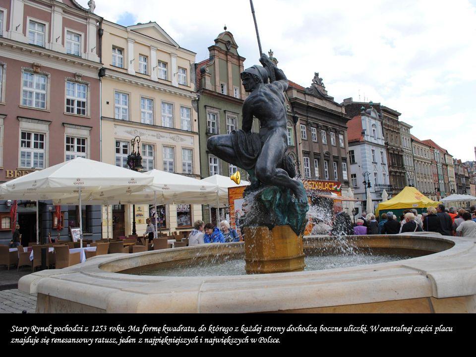 Stary Rynek pochodzi z 1253 roku.