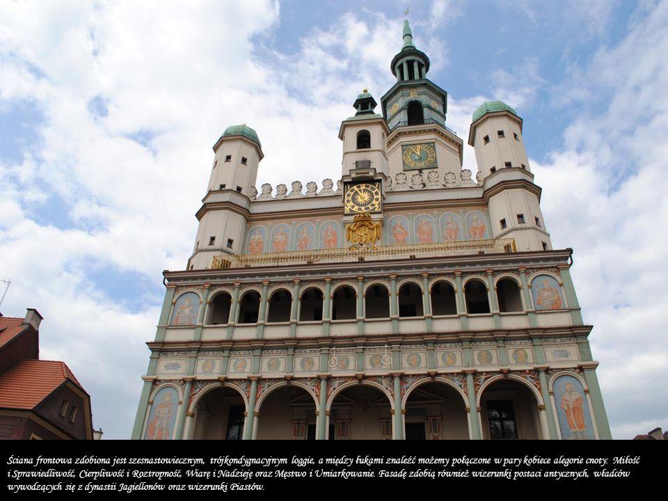 Ratusz Według wielu zarówno jeden z najpiękniejszych, jak i najcenniejszych zabytków architektury renesansu.