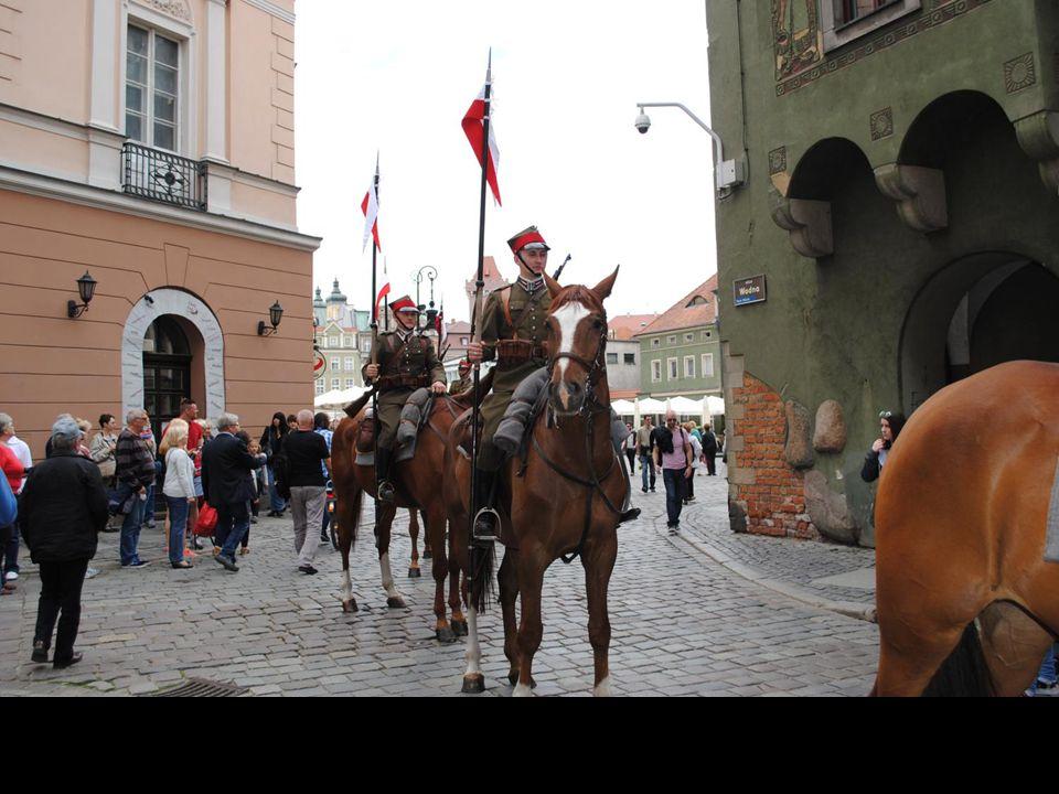 Znanym symbolem miasta są także domki budnicze, które należały do poznańskich kupców.