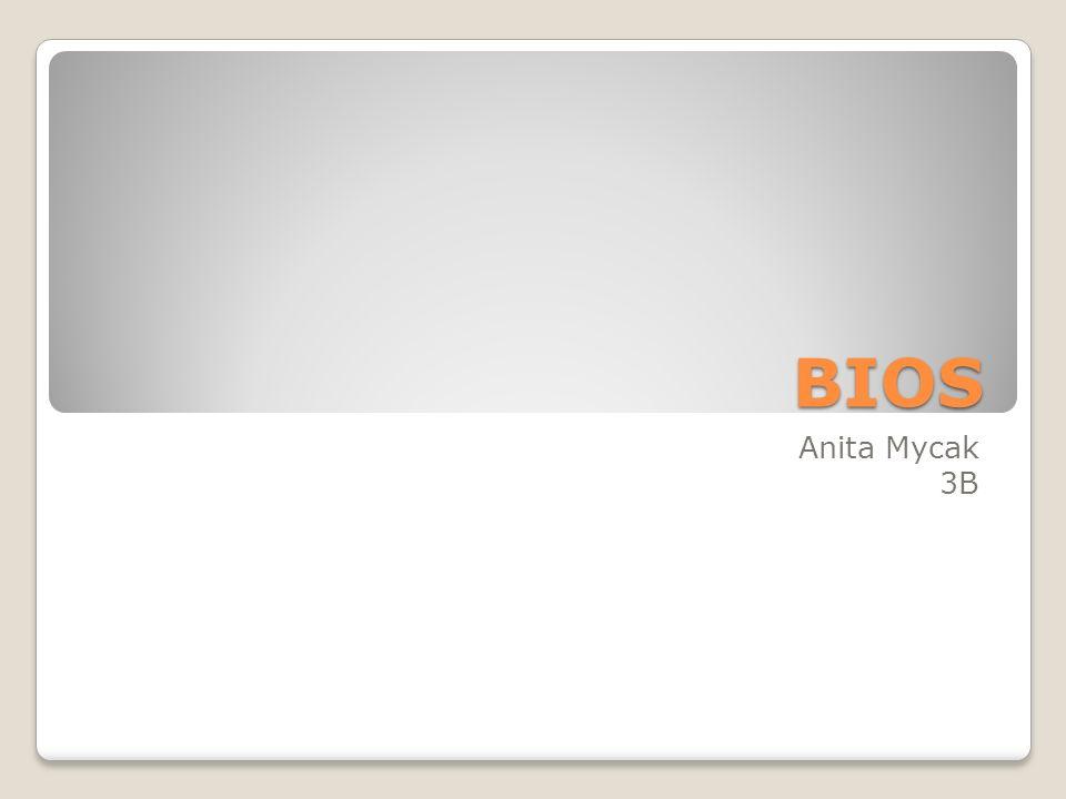 Ogólne pojęcie BIOS (akronim ang.