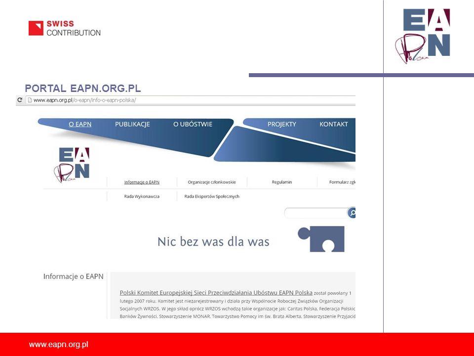 www.eapn.org.pl PORTAL EAPN.ORG.PL