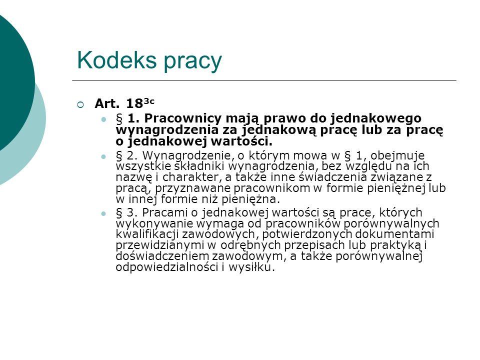 Kodeks pracy Art. 18 3c § 1.