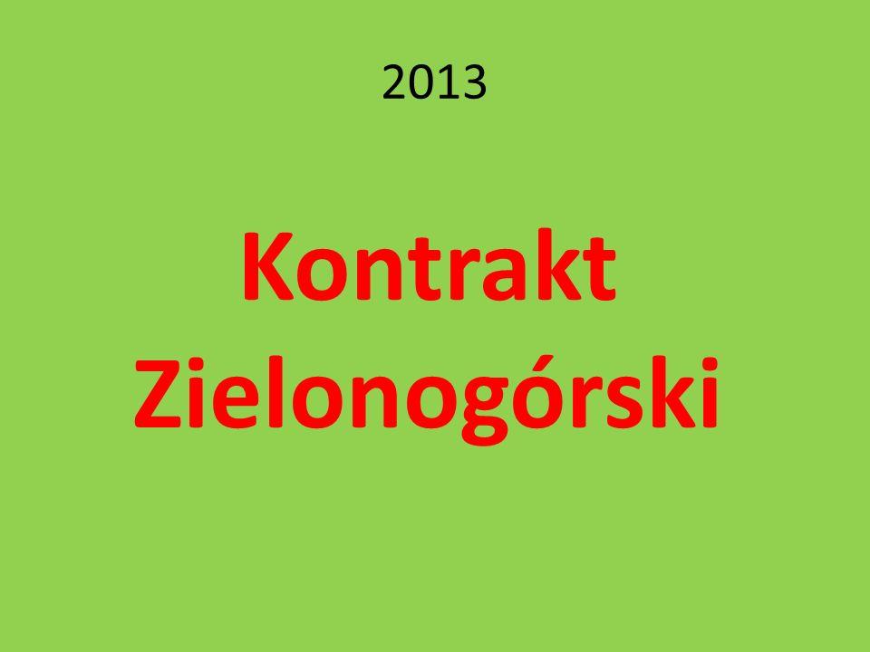 2013 Kontrakt Zielonogórski