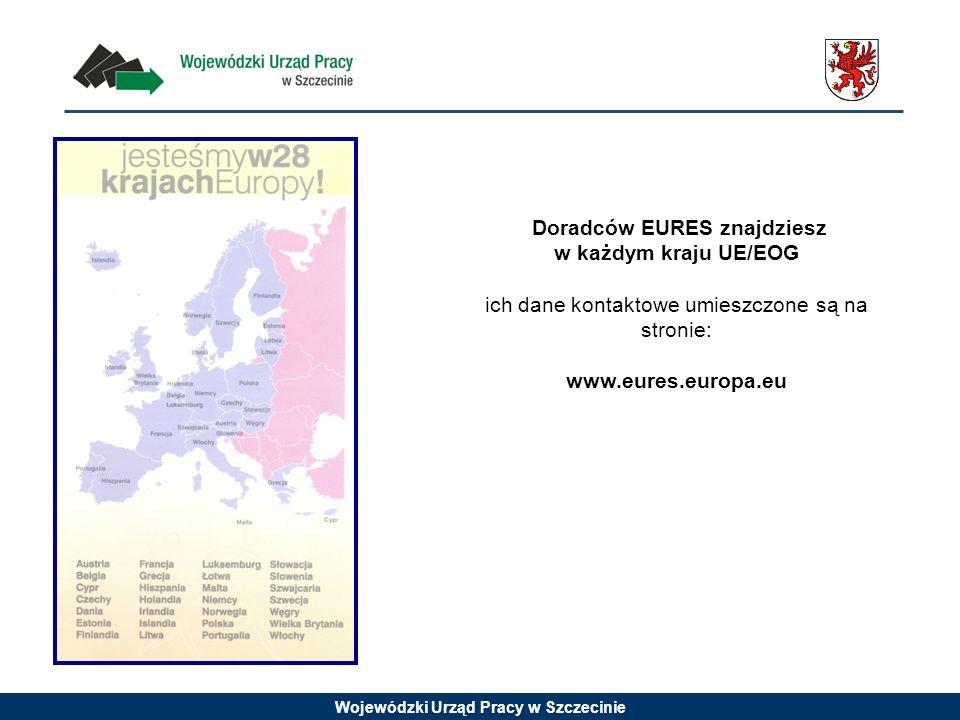 Doradców EURES znajdziesz w każdym kraju UE/EOG ich dane kontaktowe umieszczone są na stronie: www.eures.europa.eu