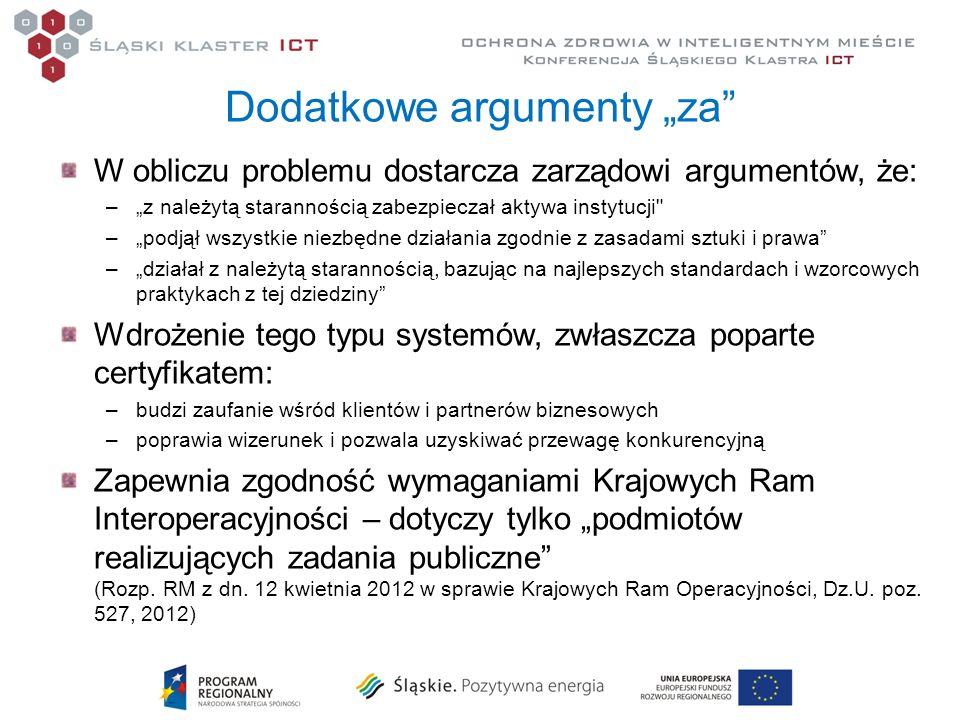Dodatkowe argumenty za W obliczu problemu dostarcza zarządowi argumentów, że: –z należytą starannością zabezpieczał aktywa instytucji