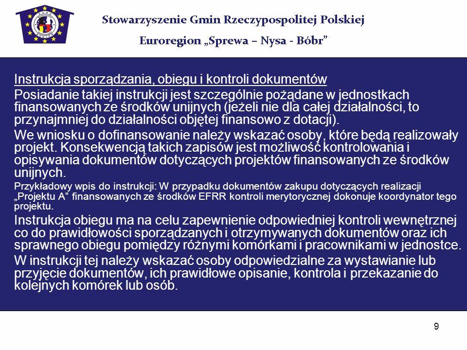 30 Wymogi formalne (art.21 ust.