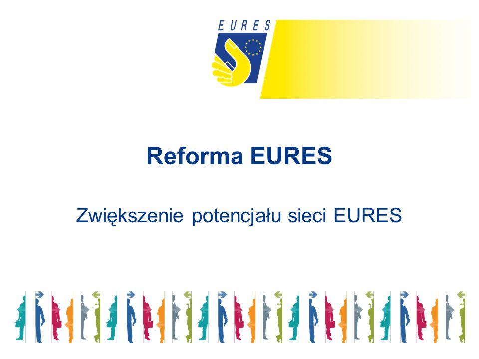 Reforma EURES Zwiększenie potencjału sieci EURES