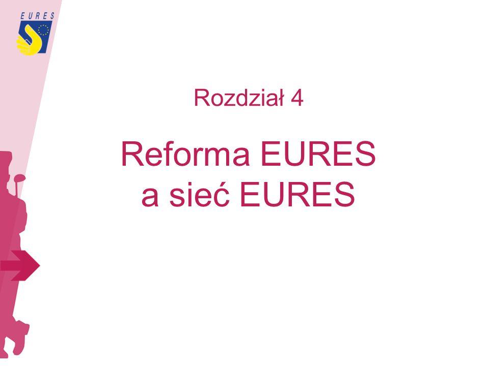 Rozdział 4 Reforma EURES a sieć EURES