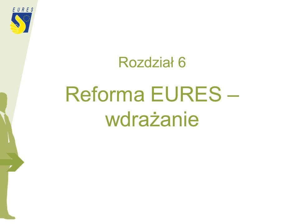 Rozdział 6 Reforma EURES – wdrażanie
