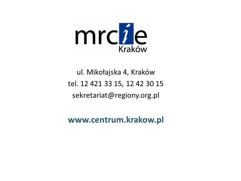 ul. Mikołajska 4, Kraków tel.