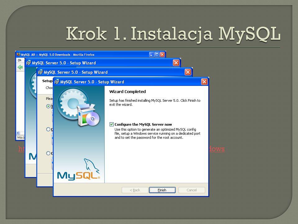 http://dev.mysql.com/downloads/mysql/5.0.html#Windows