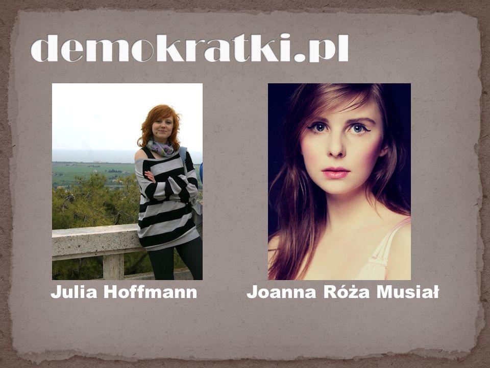 Julia HoffmannJoanna Róża Musiał