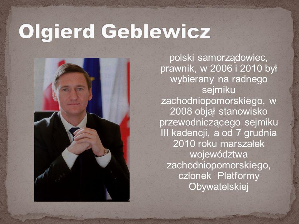 polski samorządowiec, prawnik, w 2006 i 2010 był wybierany na radnego sejmiku zachodniopomorskiego, w 2008 objął stanowisko przewodniczącego sejmiku III kadencji, a od 7 grudnia 2010 roku marszałek województwa zachodniopomorskiego, członek Platformy Obywatelskiej