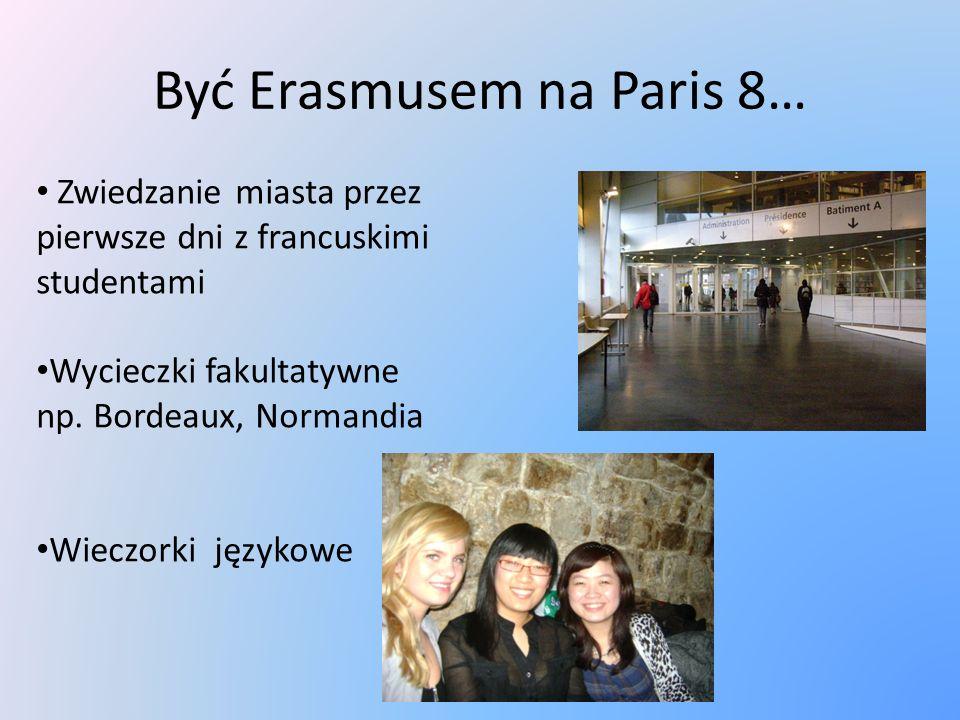 Być Erasmusem na Paris 8… Zwiedzanie miasta przez pierwsze dni z francuskimi studentami Wycieczki fakultatywne np.
