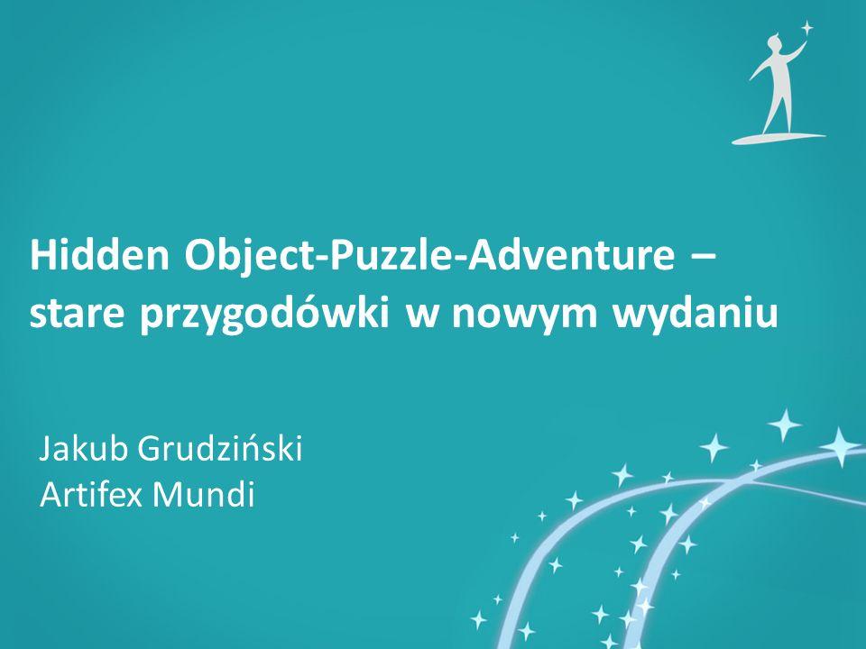 Jakub Grudziński Artifex Mundi Hidden Object-Puzzle-Adventure – stare przygodówki w nowym wydaniu