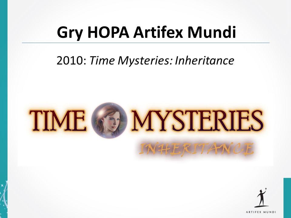 Gry HOPA Artifex Mundi 2010: Time Mysteries: Inheritance