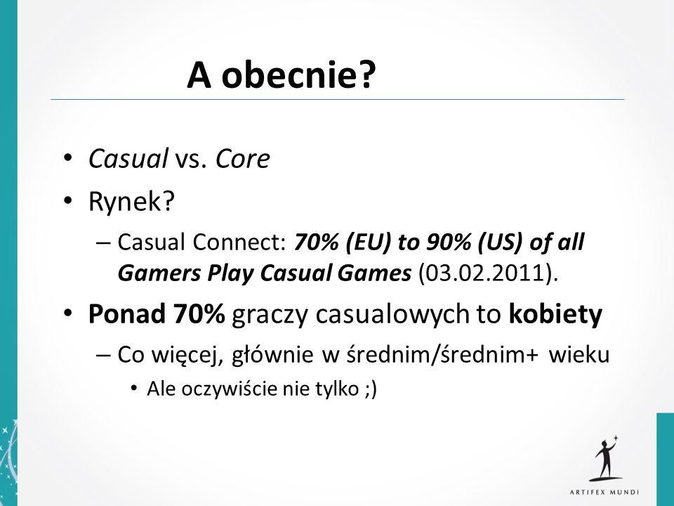 Casual vs.Core Rynek.