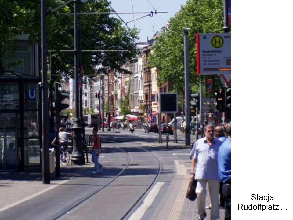 Stacja Rudolfplatz...