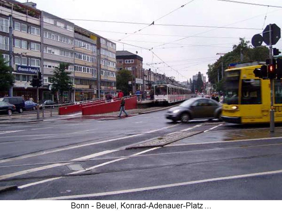 Bonn - Beuel, Konrad-Adenauer-Platz...