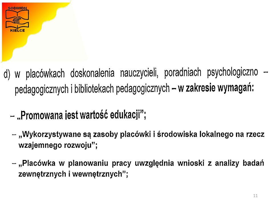 Materiały opracowała - Monika Zawadzka-Chłopek 11