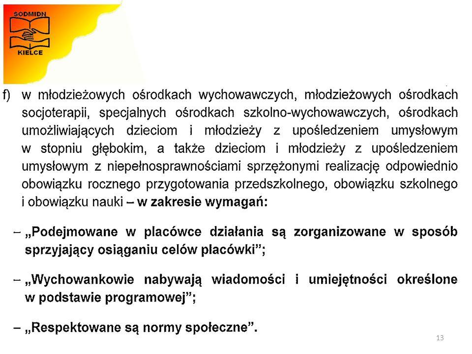 Materiały opracowała - Monika Zawadzka-Chłopek 13