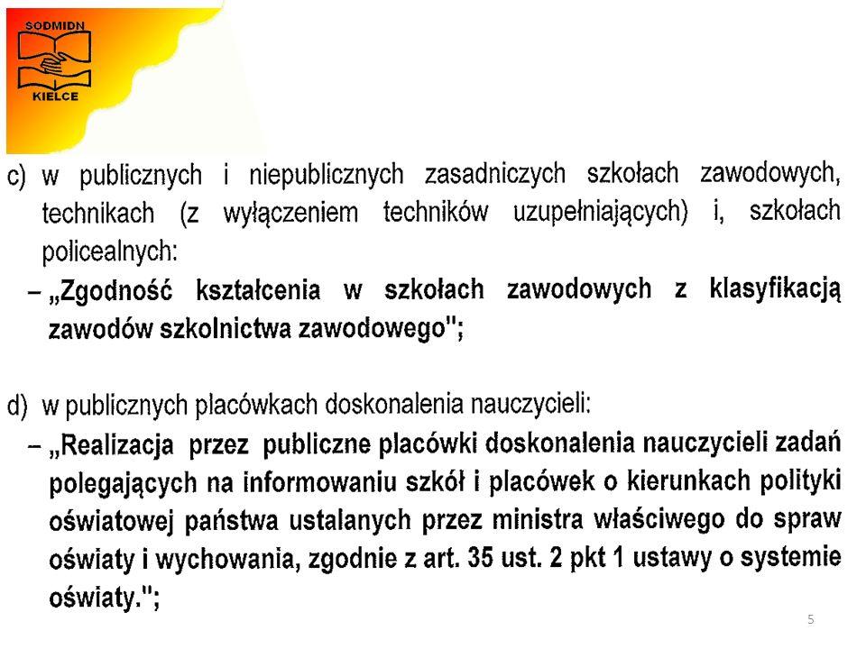 Materiały opracowała - Monika Zawadzka-Chłopek Matura 2015 - terminarz 46