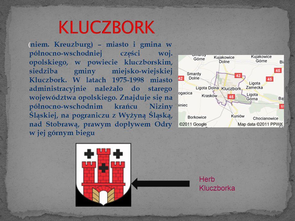 ( niem.Kreuzburg) – miasto i gmina w północno-wschodniej części woj.
