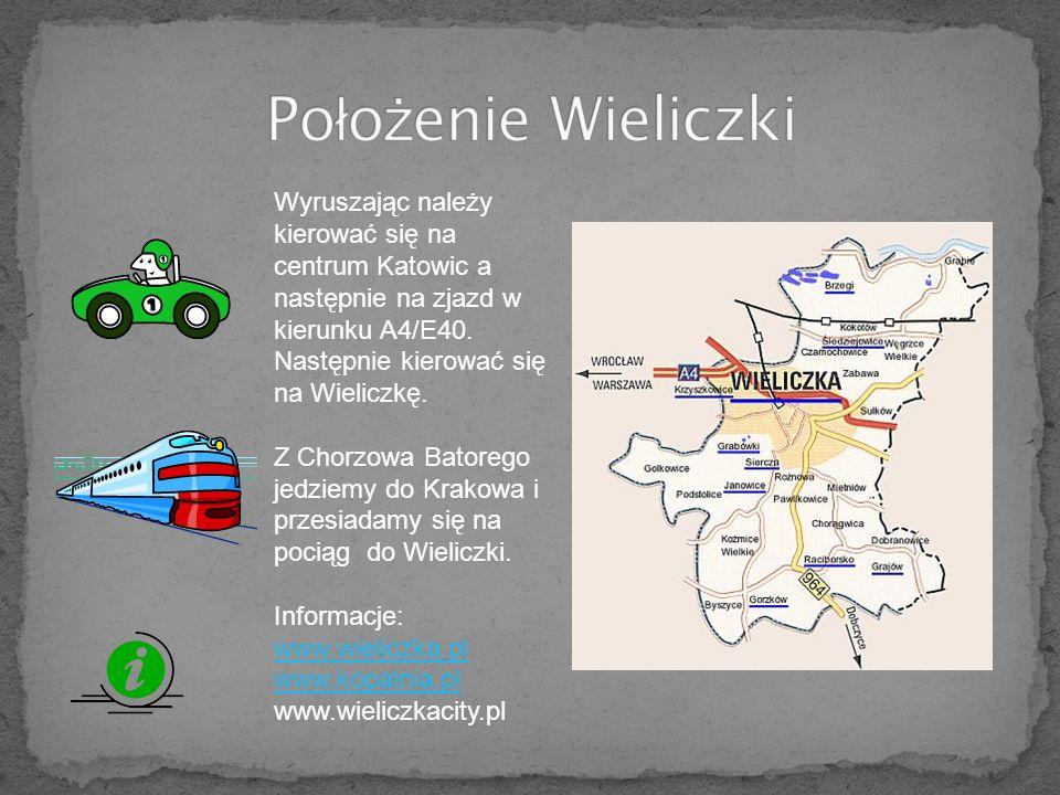 Wyruszając należy kierować się na centrum Katowic a następnie na zjazd w kierunku A4/E40.